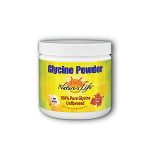 Nature's Life, Glycine Powder, 400 grams - 040647282605 | Hilife Vitamins