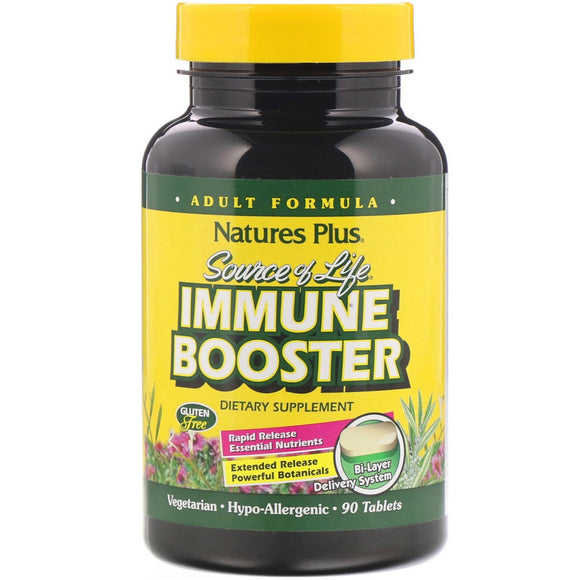 Nature's Plus, Sol Immune Booster, 90 Tablets - 097467030886 | Hilife Vitamins