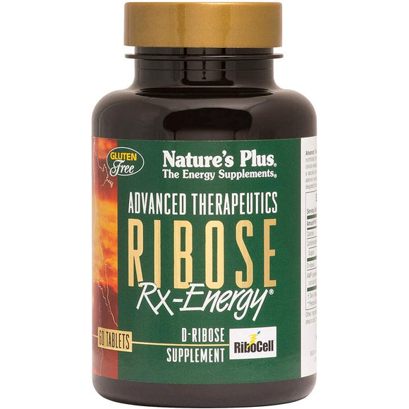 Nature's Plus, Ribose Rx Energy, 60 Tablets - 097467049918 | Hilife Vitamins