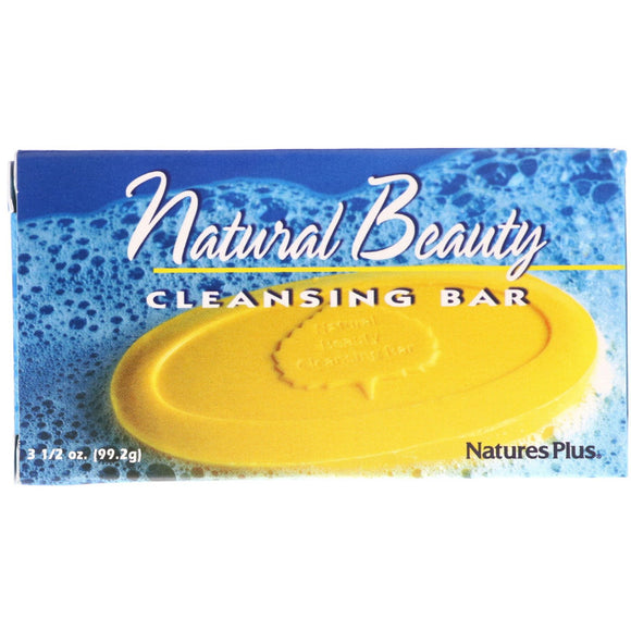 Nature's Plus, Natural Beauty Cleansing Bar, 3.5 Oz - 097467059900 | Hilife Vitamins