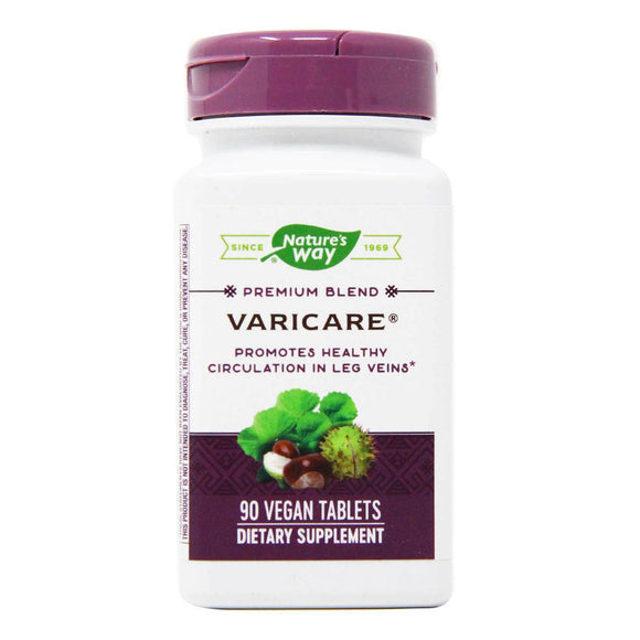 Nature's Way, Varicare, 90 Tablets - 763948088492 | Hilife Vitamins
