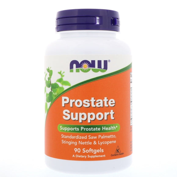 Now Foods, Prostate Support, 90 Softgels - 733739033406 | Hilife Vitamins