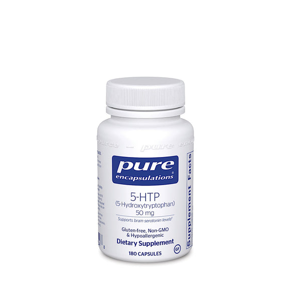 Pure Encapsulations, 5-HTP 50 Mg, 180 Capsules - 766298001548 | Hilife Vitamins