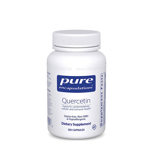 Pure Encapsulations, Quercetin 500 Mg, 120 Capsules - 766298002316 | Hilife Vitamins