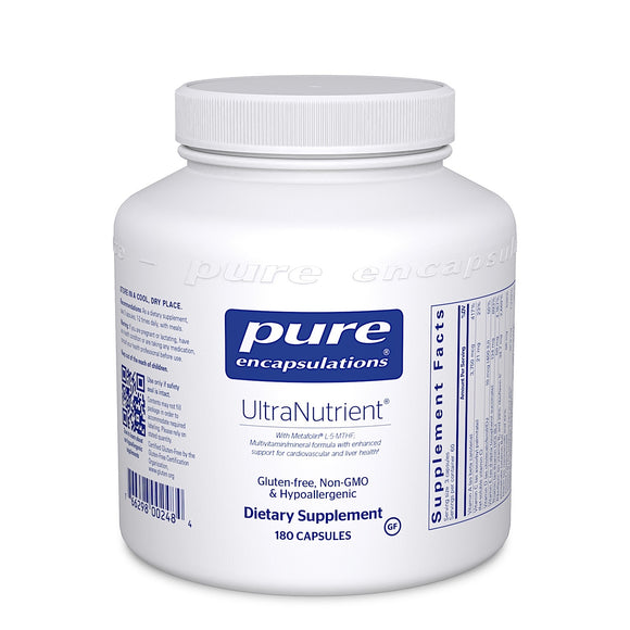 Pure Encapsulations, UltraNutrient, 180 Capsules - 766298002484 | Hilife Vitamins