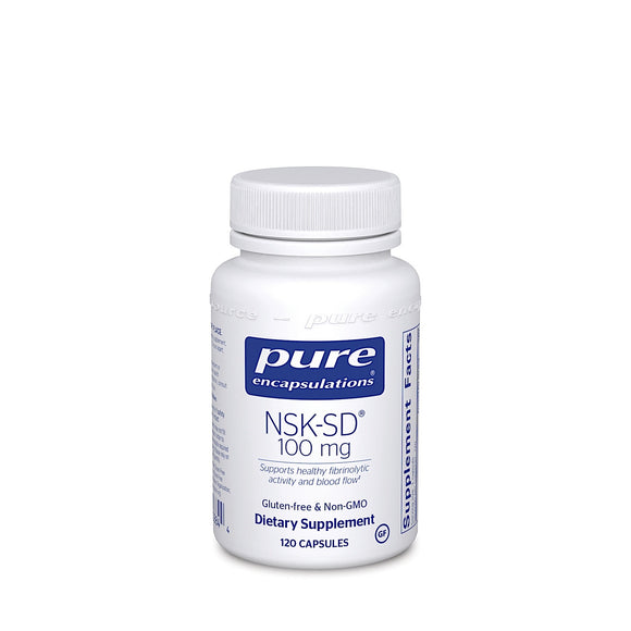 Pure Encapsulations, NSK-SD 100 Mg, 120 Capsules - 766298008844 | Hilife Vitamins