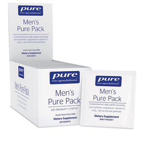 Pure Encapsulations, Mens Pure Pack, 30 Packets - 766298012742 | Hilife Vitamins