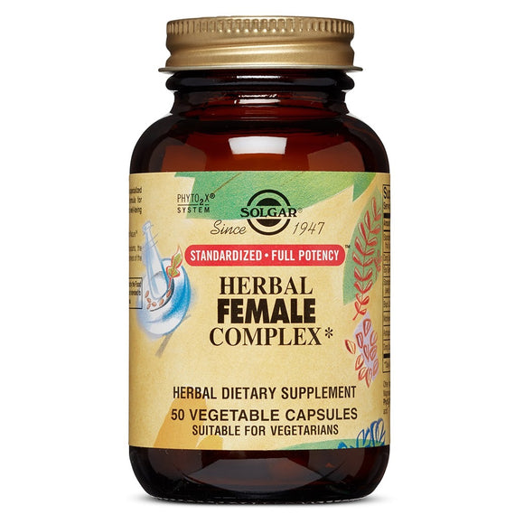 Solgar, Sfp Herbal Female Complex Vc, 50 Vegetable Capsules - 033984041639 | Hilife Vitamins
