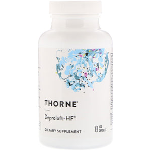 Thorne Research, Deproloft-Hf, 120 Capsules - 693749048022 | Hilife Vitamins