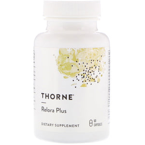 Thorne Research, Relora Plus, 60 Capsules - 693749048091 | Hilife Vitamins