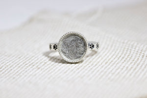 Round Forever Fur Ring