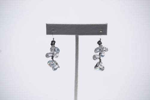 Hand Knotted Briolette Earrings