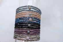 Load image into Gallery viewer, Crystal Triple Wrap Bracelet
