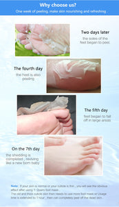 Korean Foot Exfoliation Peel Mask
