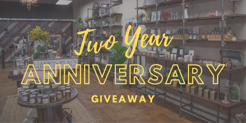 Two Year Anniversary Giveaway