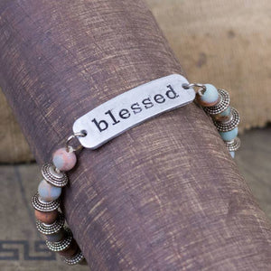 Blessed - Light Beads Bracelet