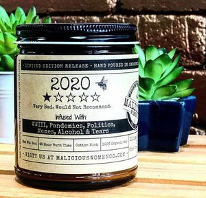 "2020 1 Star - Infused With ""All The Things"" Scent HoneySUCKle Candle"