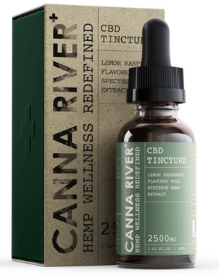 Canna River Full Spec 2500 mg 60 ml tincture