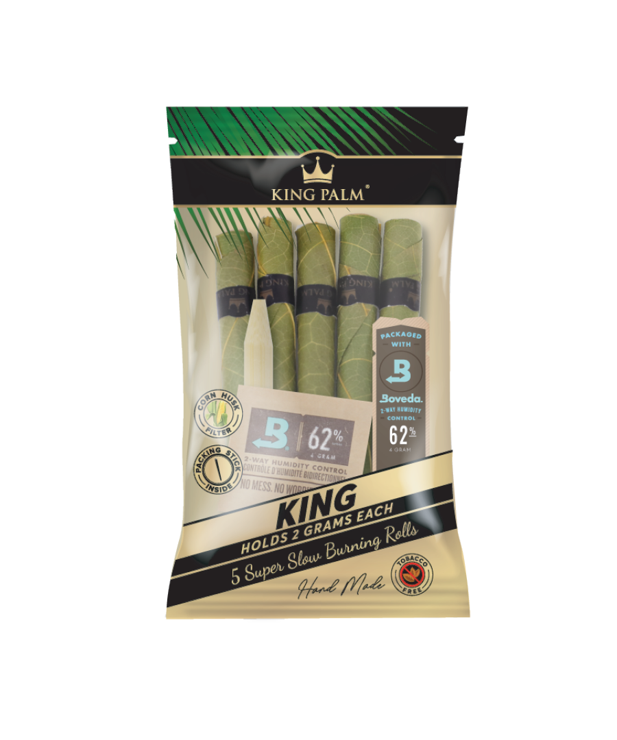 King Palm Hand Rolled Cordia Leaf Rolls