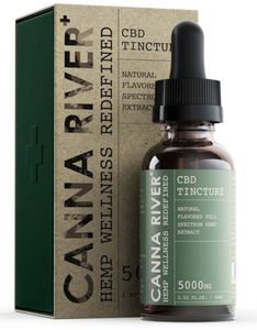 Canna River Full Spectrum 5000 mg 60 ml tincture