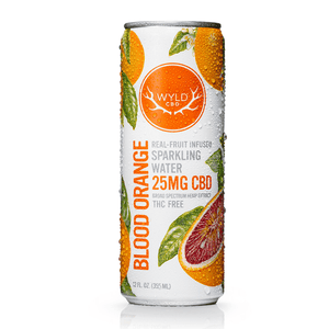 WYLD Sparkling Water 12oz (25mg CBD)