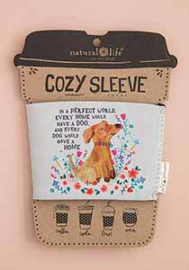 In a Perfect World Dog Coozie