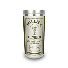 Load image into Gallery viewer, Willie's Remedy Tea 3oz Tin