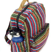 Load image into Gallery viewer, Zig Zag Brushed Cotton Gheri Backpack