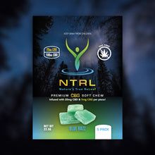 Load image into Gallery viewer, NTRL CBG Soft Chews 5 Pack