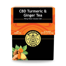 Load image into Gallery viewer, CBD Buddha Tea 90mg (5mg Per Bag)