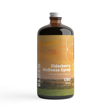 Elderberry Wellness Syrup (CBD)