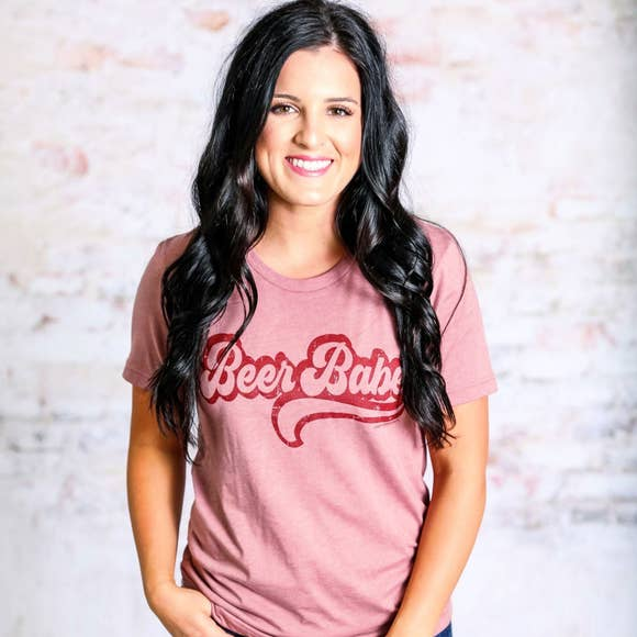 Beer Babe Graphic T-Shirt