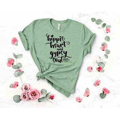 Hippie Heart and Gypsy Soul Graphic T-Shirt