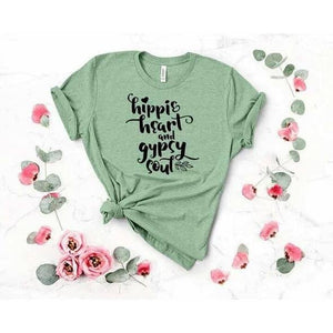 Hippie Heart and Gypsy Soul T-Shirt