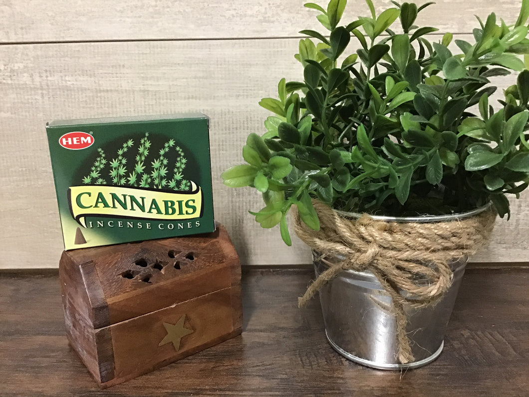 Cannabis Incense Cone
