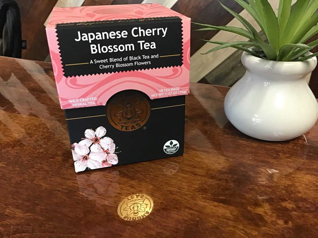 Japanese Cherry Blossom Tea