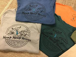 Men's Printed Hemp Hemp Hooray T-Shirt