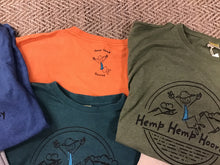 Load image into Gallery viewer, Men's Printed Hemp Hemp Hooray T-Shirt