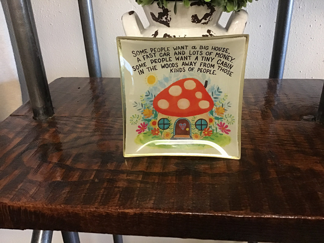 Glass Keepsake Dish
