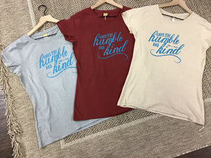 Women's Printed Hemp T-Shirts