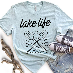 Lake Life Graphic T-Shirt