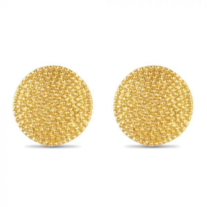 MERRY DISC STUD EARRINGS