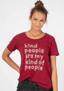 Kind People Are My Kind of People Boho Tee