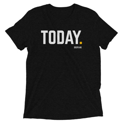 TODAY. - Black Short Sleeve T-Shirt