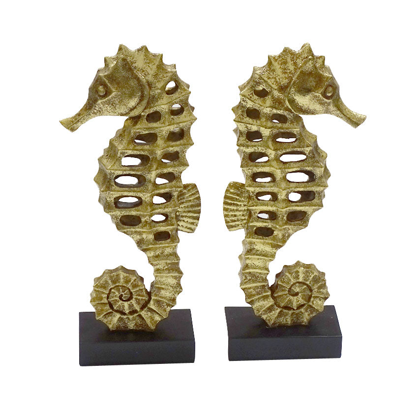 SEAHORSE BOOKENDS