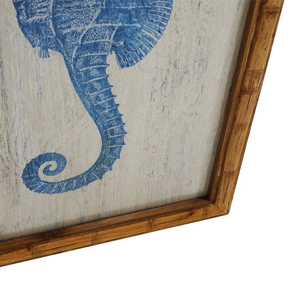 PACIFIC SEAHORSE WALL ART