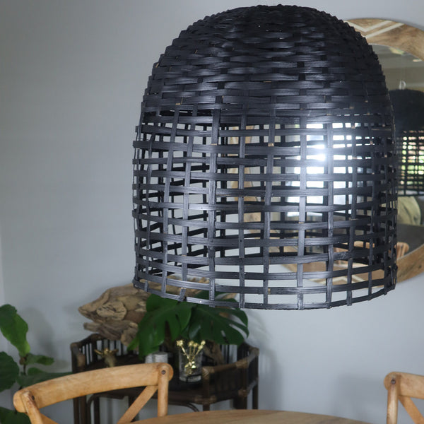 I loved these stunning coastal rattan light shades I have one in my lounge room and I absolutely love it. The diffuse light paints amazing diffuse light on your ceiling and it looks trendy, stylish and ads an informal coastal feel to your home.  I love it.