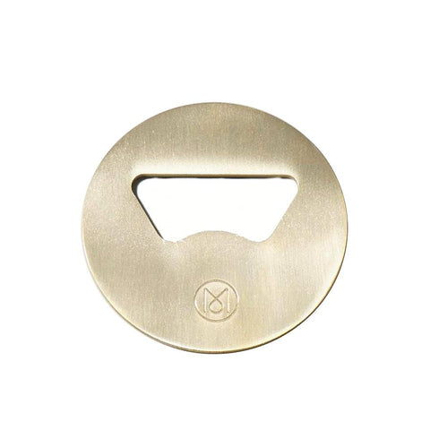 Monocle Brass Bottle Opener