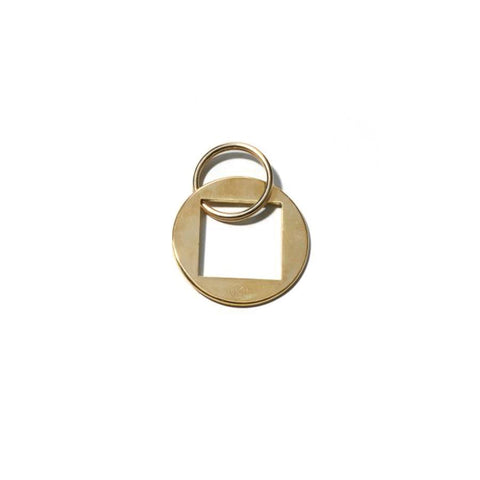 Monocle Brass Keyring