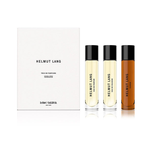 Helmut Lang Mixed Fragrance Trio 3x10mL